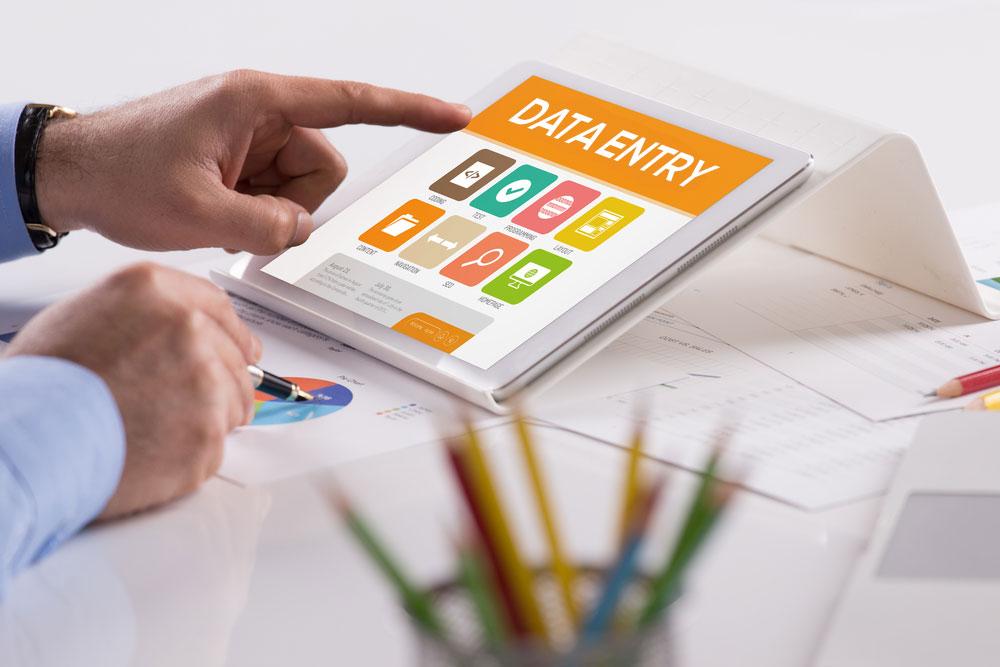 Обработка, въвеждане и алктуализиране на база данни